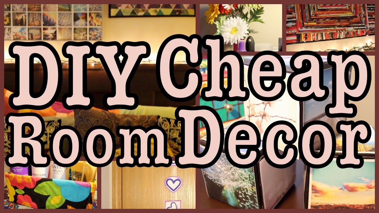 Best ideas about Cheap DIY Room Decor . Save or Pin DIY Cheap Room Decor Ways to SPICE Up Your Room Now.