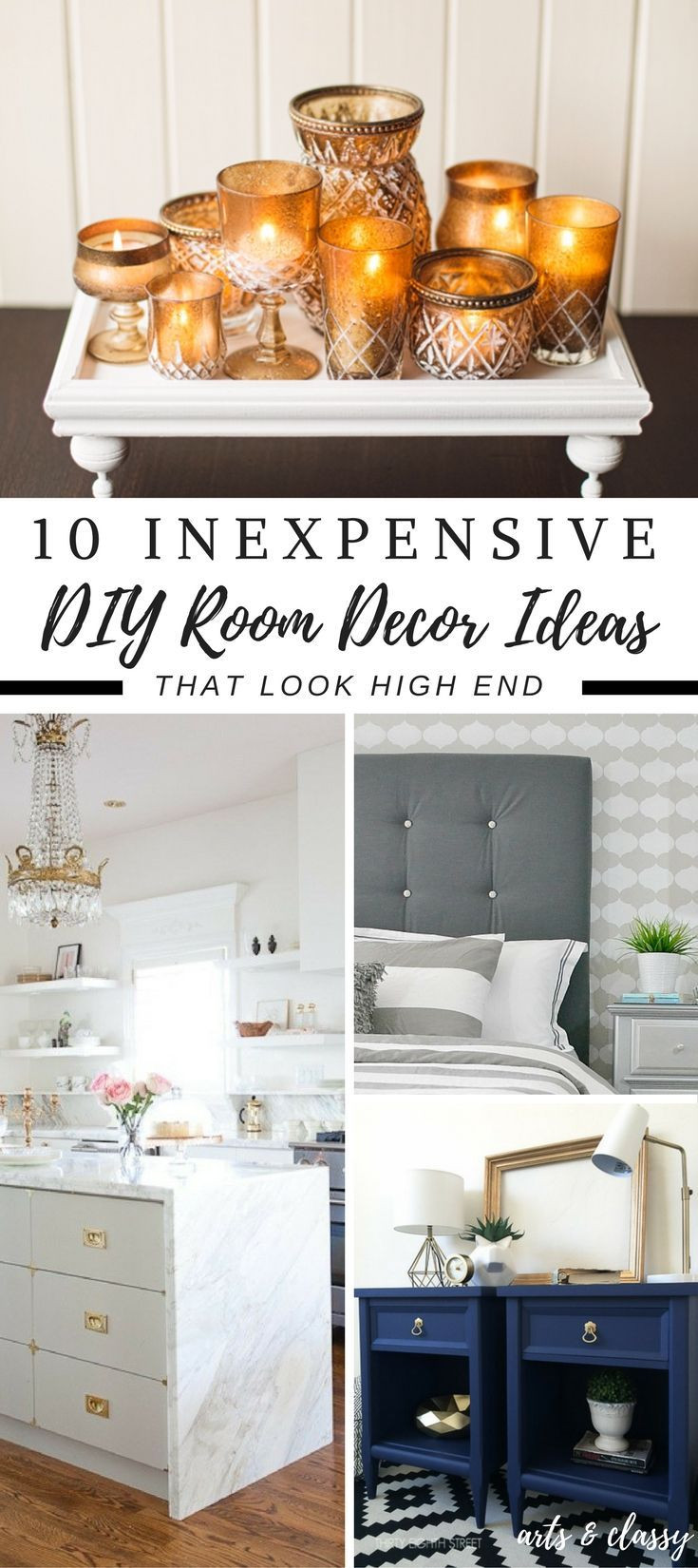 Best ideas about Cheap DIY Room Decor . Save or Pin 3392 best Decorating Ideas images on Pinterest Now.