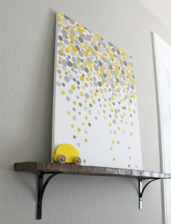Best ideas about Cheap DIY Wall Decor . Save or Pin Cheap Paintings For Home Now.