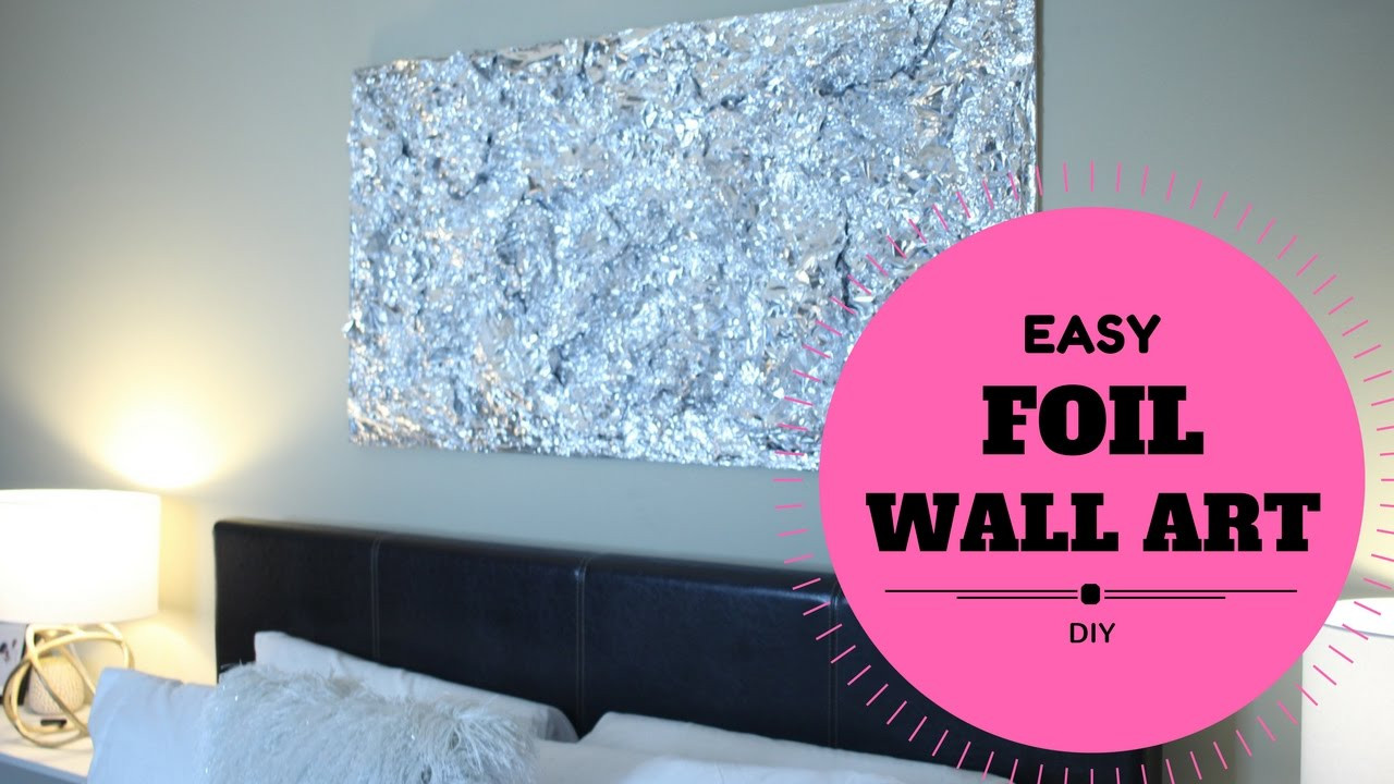 Best ideas about Cheap DIY Wall Decor . Save or Pin BUDGET DIY WALL ART DECOR FOR BEDROOM EASY & CHEAP $30 Now.