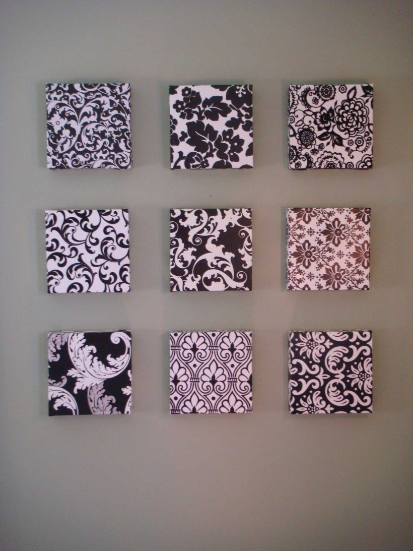 Best ideas about Cheap DIY Wall Decor . Save or Pin DIY Cheap Wall Decor Ideas Now.