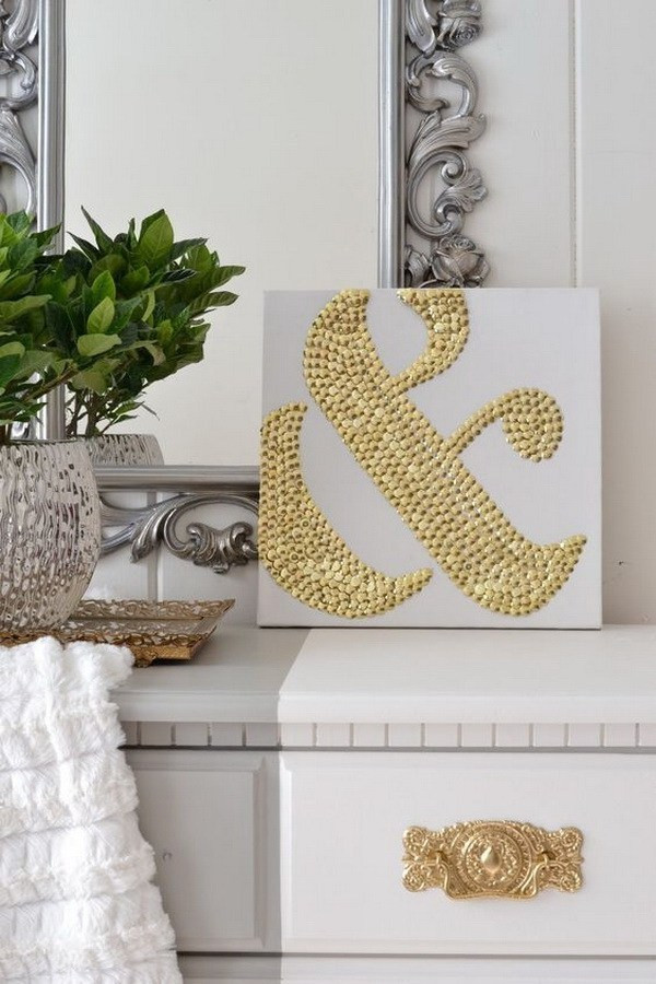 Best ideas about Cheap DIY Wall Decor . Save or Pin 25 Stunning DIY Wall Art Ideas & Tutorials For Creative Now.