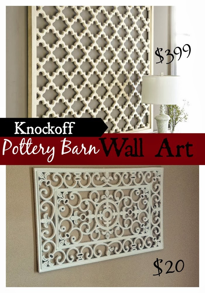 Best ideas about Cheap DIY Wall Decor . Save or Pin DIY Pottery Barn Wall Art Knockoff Fun Cheap or Free Now.