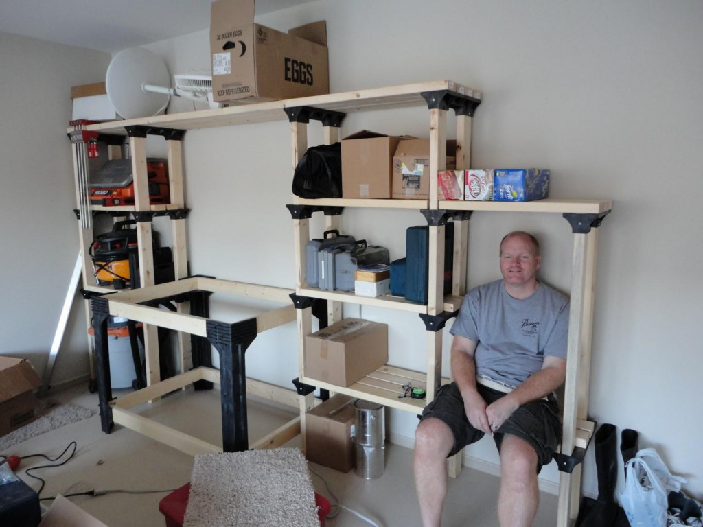 Best ideas about Cheap Garage Storage Ideas . Save or Pin DIY Garage Shelving Ideas and Systems Now.