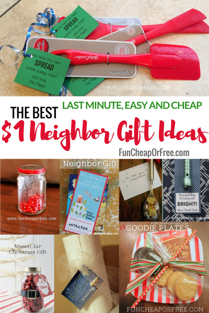 Best ideas about Cheap Gift Ideas . Save or Pin 25 $1 Neighbor t Ideas Cheap Easy Last Minute Now.