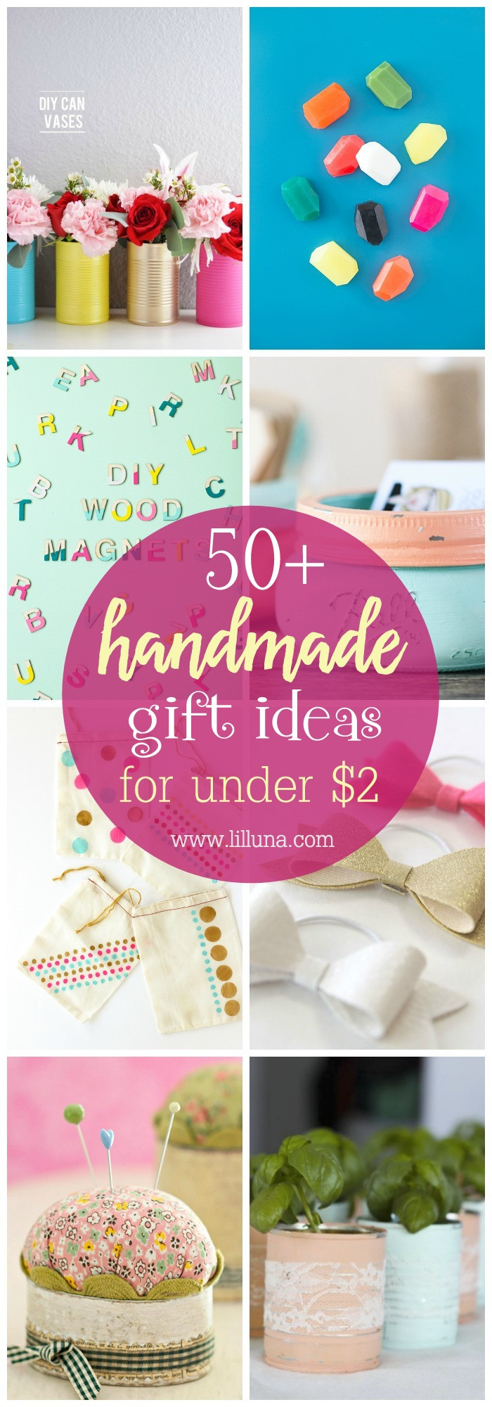 Best ideas about Cheap Gift Ideas . Save or Pin Inexpensive Handmade Gift Ideas Now.