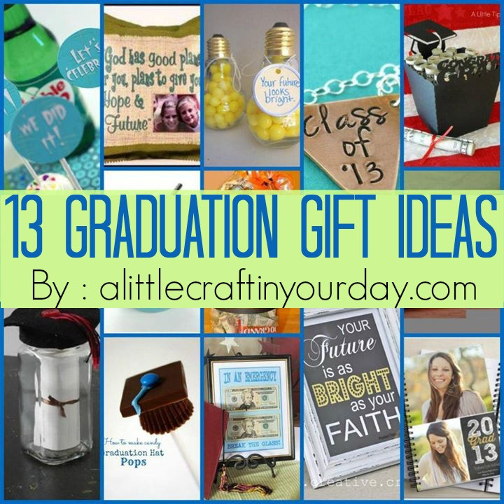 Best ideas about Cheap Graduation Gift Ideas . Save or Pin 13 Graduation ideas A Little Craft In Your Day Now.