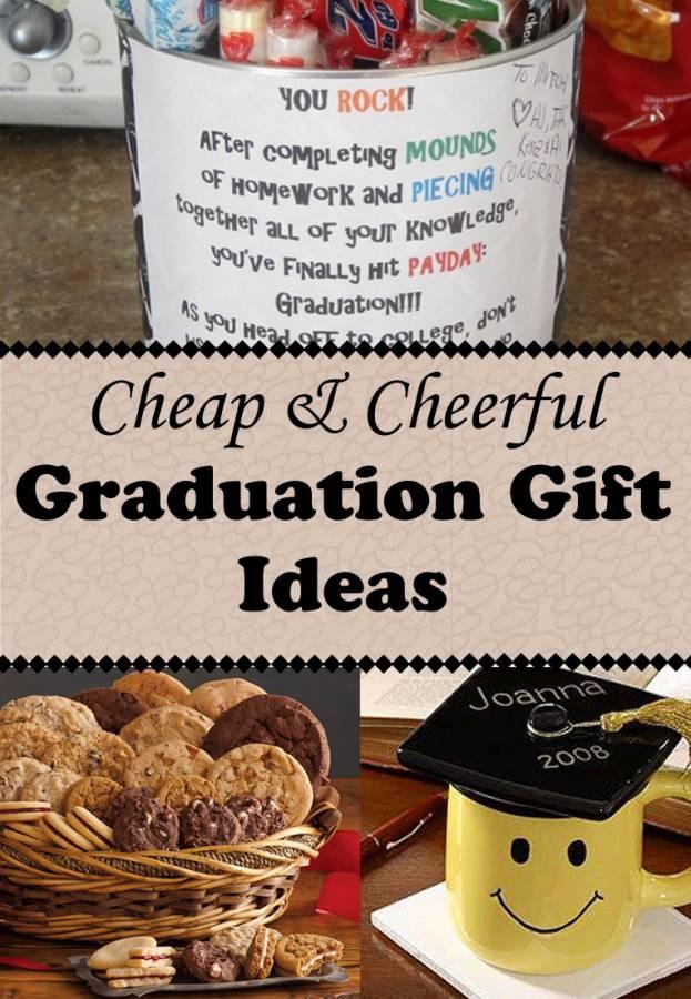 Best ideas about Cheap Graduation Gift Ideas . Save or Pin Cheap and Cheerful Graduation Gifts Now.