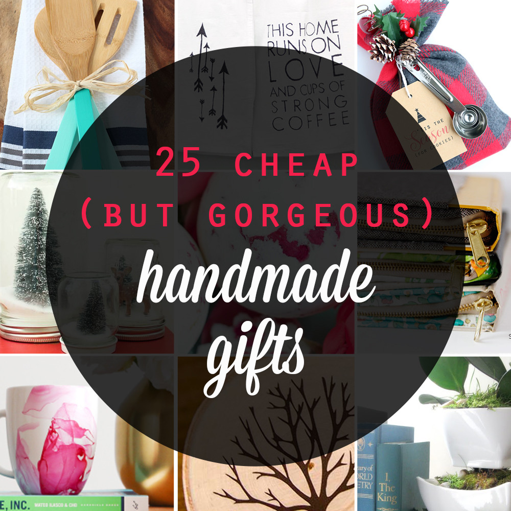 Best ideas about Cheap Holiday Gift Ideas . Save or Pin 25 cheap but gorgeous  DIY t ideas It s Always Autumn Now.
