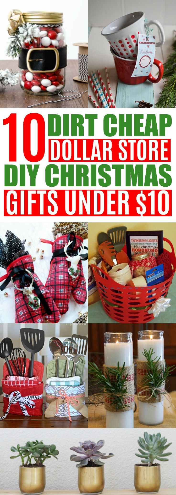 Best ideas about Cheap Holiday Gift Ideas . Save or Pin 10 DIY Cheap Christmas Gift Ideas From the Dollar Store Now.