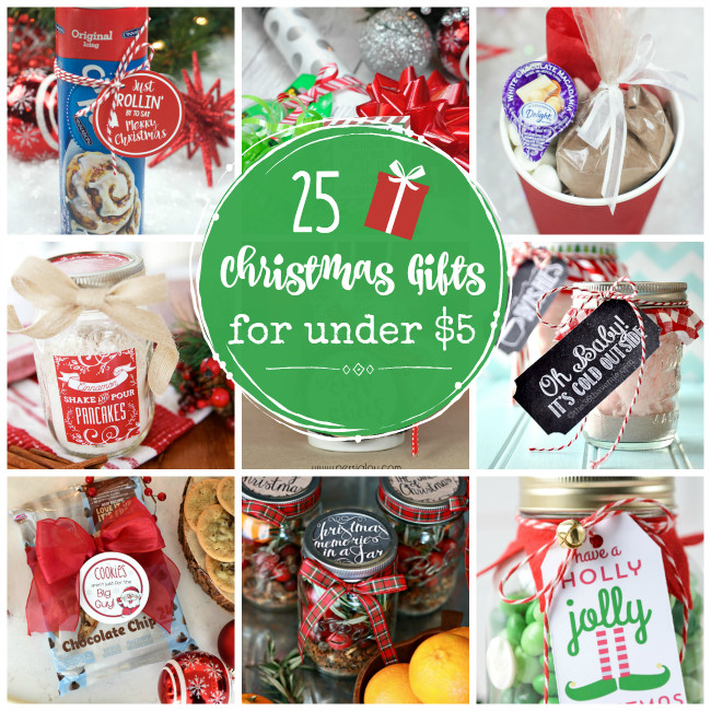 Best ideas about Cheap Holiday Gift Ideas . Save or Pin 25 Cheap Gifts for Christmas Under $5 Crazy Little Projects Now.