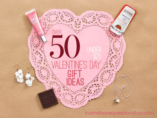 Best ideas about Cheap Valentines Day Gift Ideas . Save or Pin Inexpensive Valentine Gift Ideas All under $20 Moms Now.