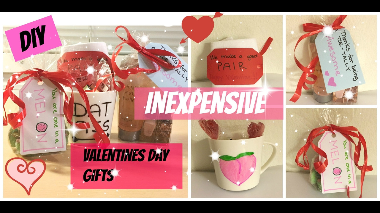 Best ideas about Cheap Valentines Day Gift Ideas . Save or Pin DIY inexpensive Valentines day ts to boyfriend Now.