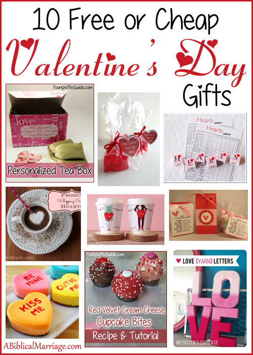 Best ideas about Cheap Valentines Day Gift Ideas . Save or Pin 10 Free or Cheap Valentine s Day Gifts Young Wife s Guide Now.