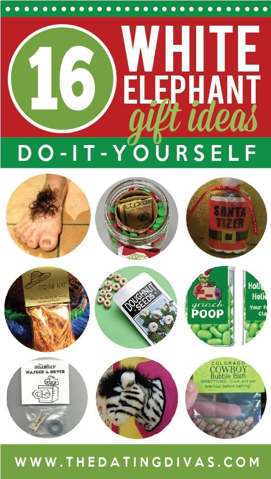Best ideas about Cheap White Elephant Gift Ideas . Save or Pin 101 White Elephant Gift Ideas The Dating Divas Now.