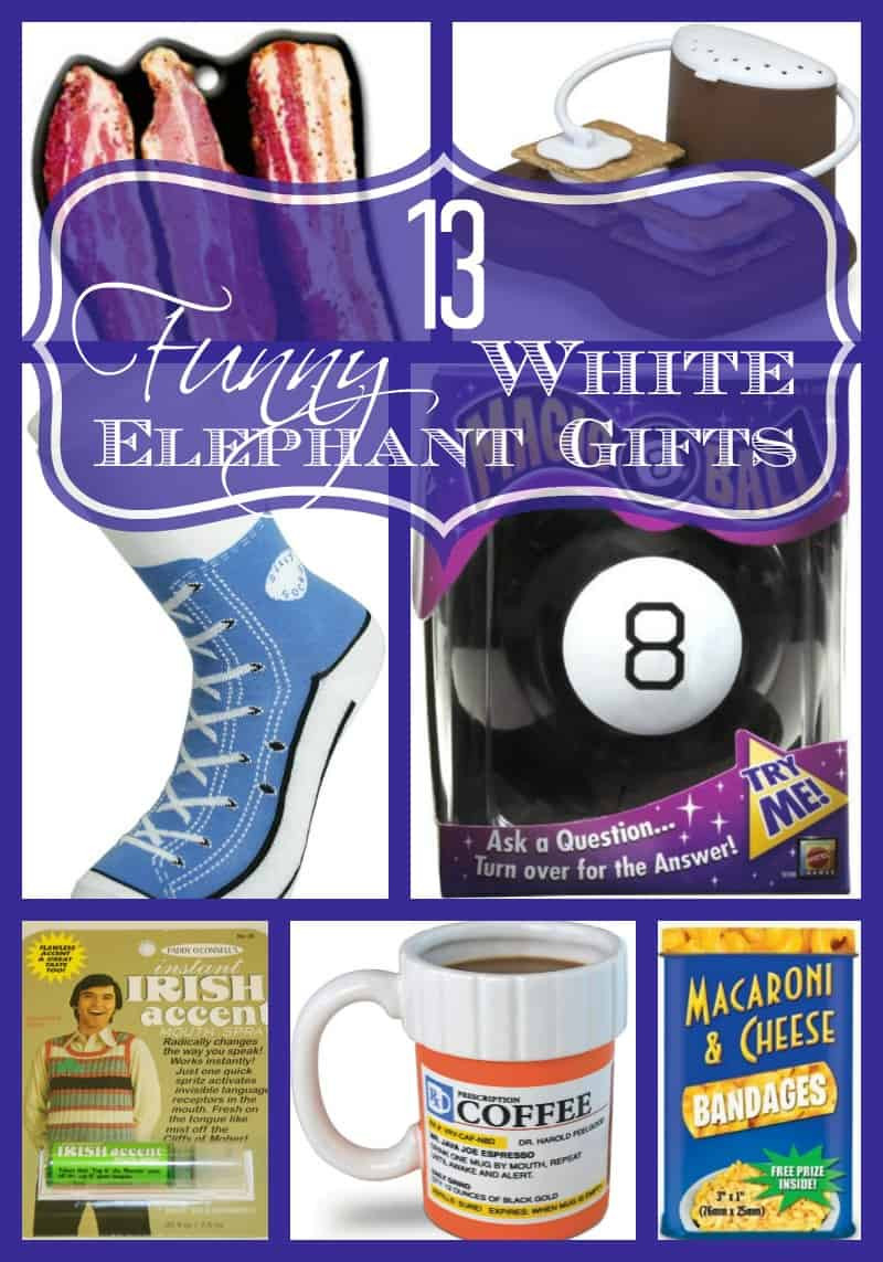 Best ideas about Cheap White Elephant Gift Ideas . Save or Pin 13 Funny White Elephant Gifts Family Friendly Now.