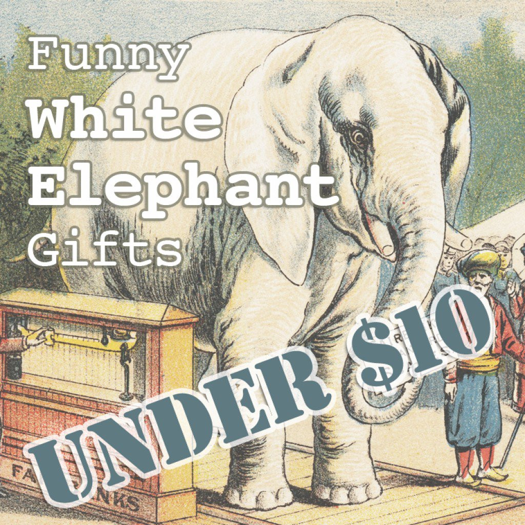 Best ideas about Cheap White Elephant Gift Ideas . Save or Pin 20 Funny White Elephant Gifts Under $10 Now.