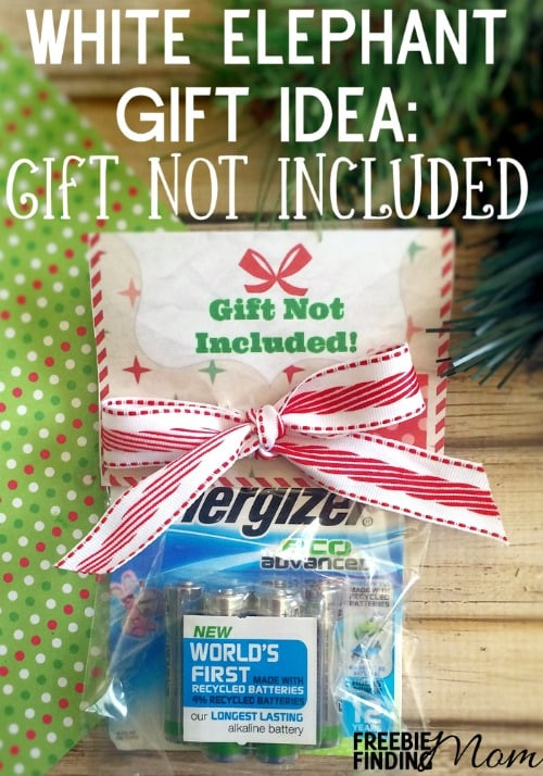 Best ideas about Cheap White Elephant Gift Ideas . Save or Pin White Elephant Gift Idea Gift Not Included Now.