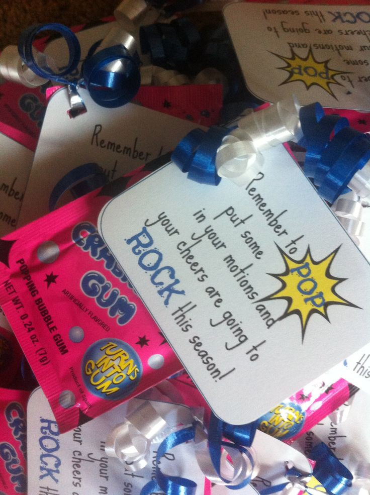 Best ideas about Cheerleader Gift Bags Ideas . Save or Pin Best 25 Cheer t bags ideas on Pinterest Now.