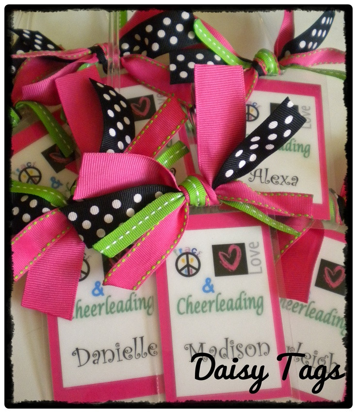 Best ideas about Cheerleader Gift Bags Ideas . Save or Pin 294 best images about Cheer Madness on Pinterest Now.