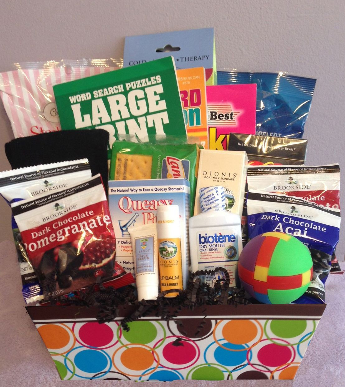 Best ideas about Chemo Gift Ideas . Save or Pin Men s Medium Chemo Basket ideas Now.