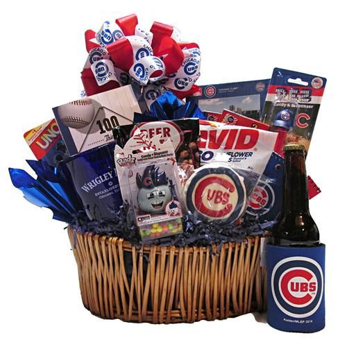 Best ideas about Chicago Cubs Gift Ideas . Save or Pin 14 best Chicago Gift Baskets images on Pinterest Now.