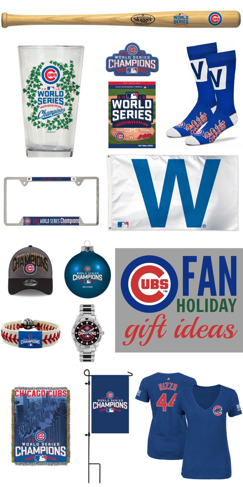 Best ideas about Chicago Cubs Gift Ideas . Save or Pin Cubs Fan Holiday Gift Ideas Shop with Unclaimed Funds Now.