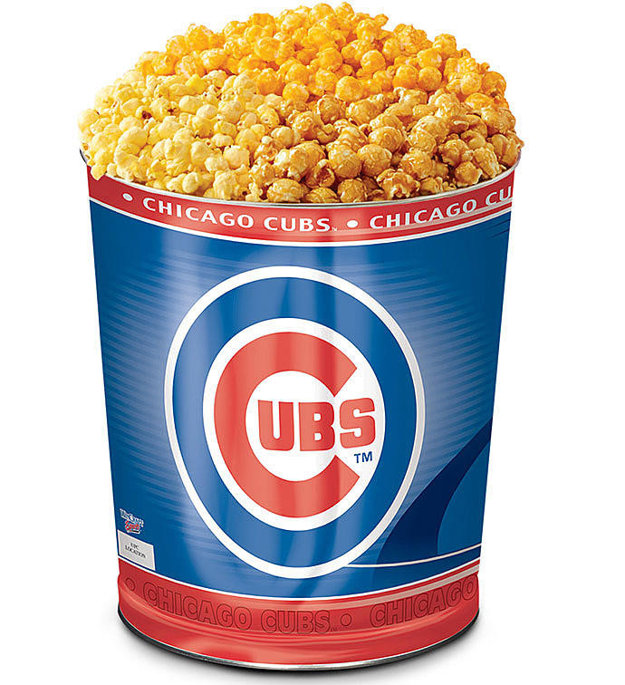 Best ideas about Chicago Cubs Gift Ideas . Save or Pin Chicage Cubs Popcorn Tins Chicago Cubs Gifts Now.