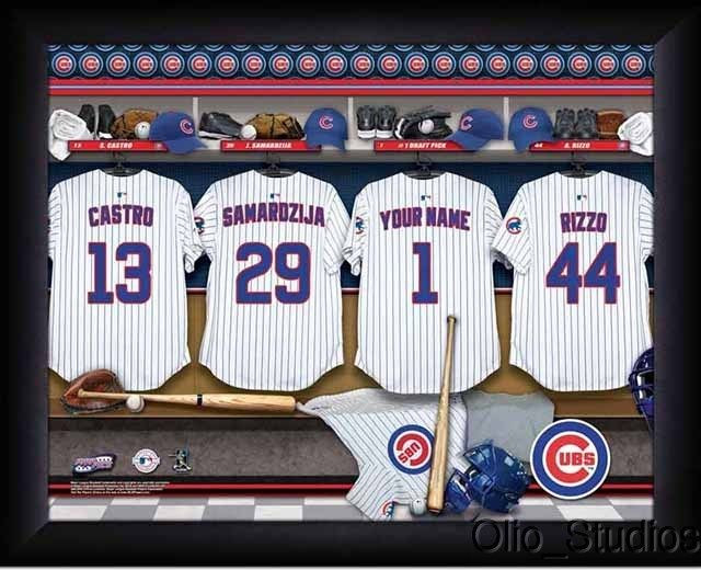 Best ideas about Chicago Cubs Gift Ideas . Save or Pin Chicago Cubs Team Locker Room Personalized Print unique Now.