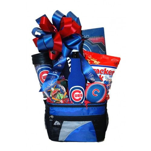 Best ideas about Chicago Cubs Gift Ideas . Save or Pin Go Cubbies Chicago Cubs Gift Basket Projects Now.