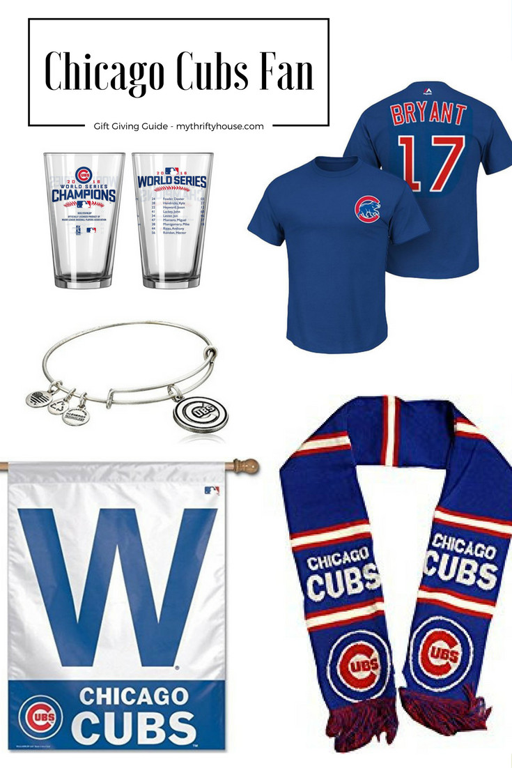Best ideas about Chicago Cubs Gift Ideas . Save or Pin Chicago Cubs Fan Gift Giving Guide My Thrifty House Now.