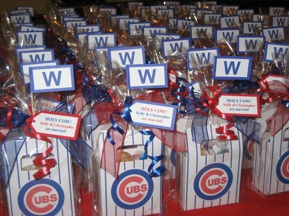 Best ideas about Chicago Cubs Gift Ideas . Save or Pin 20 Chicago Cubs Favor Bags by favoritesbyglenda on Etsy Now.