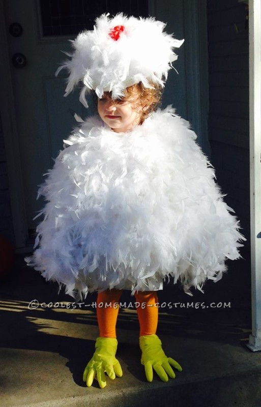 Best ideas about Chicken Costume DIY . Save or Pin Cutest Toddler DIY Chicken Costume on a Bud Now.