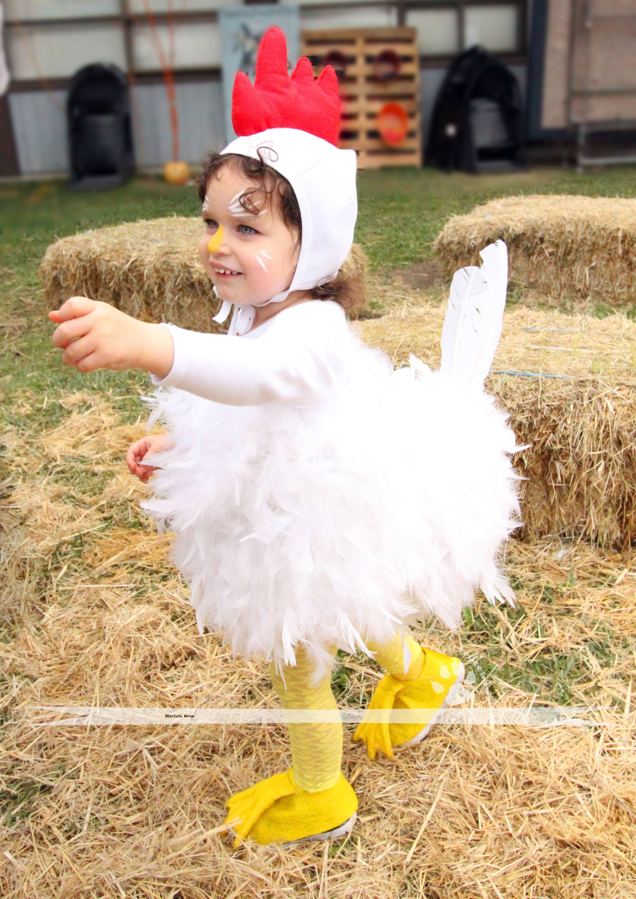 Best ideas about Chicken Costume DIY . Save or Pin SUPER CUTE Toddler or baby funny chicken costume chikin Now.