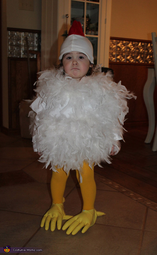 Best ideas about Chicken Costume DIY . Save or Pin Homemade Chick Costume for Babies Now.