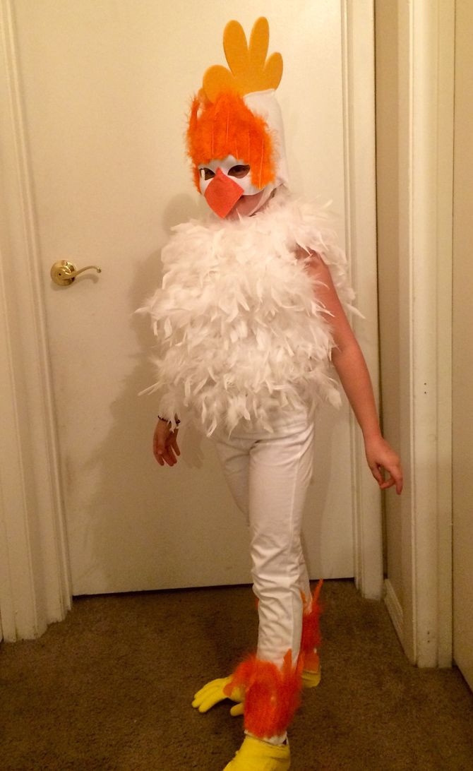 Best ideas about Chicken Costume DIY . Save or Pin How to Make a Chicken Costume with wikiHow Now.