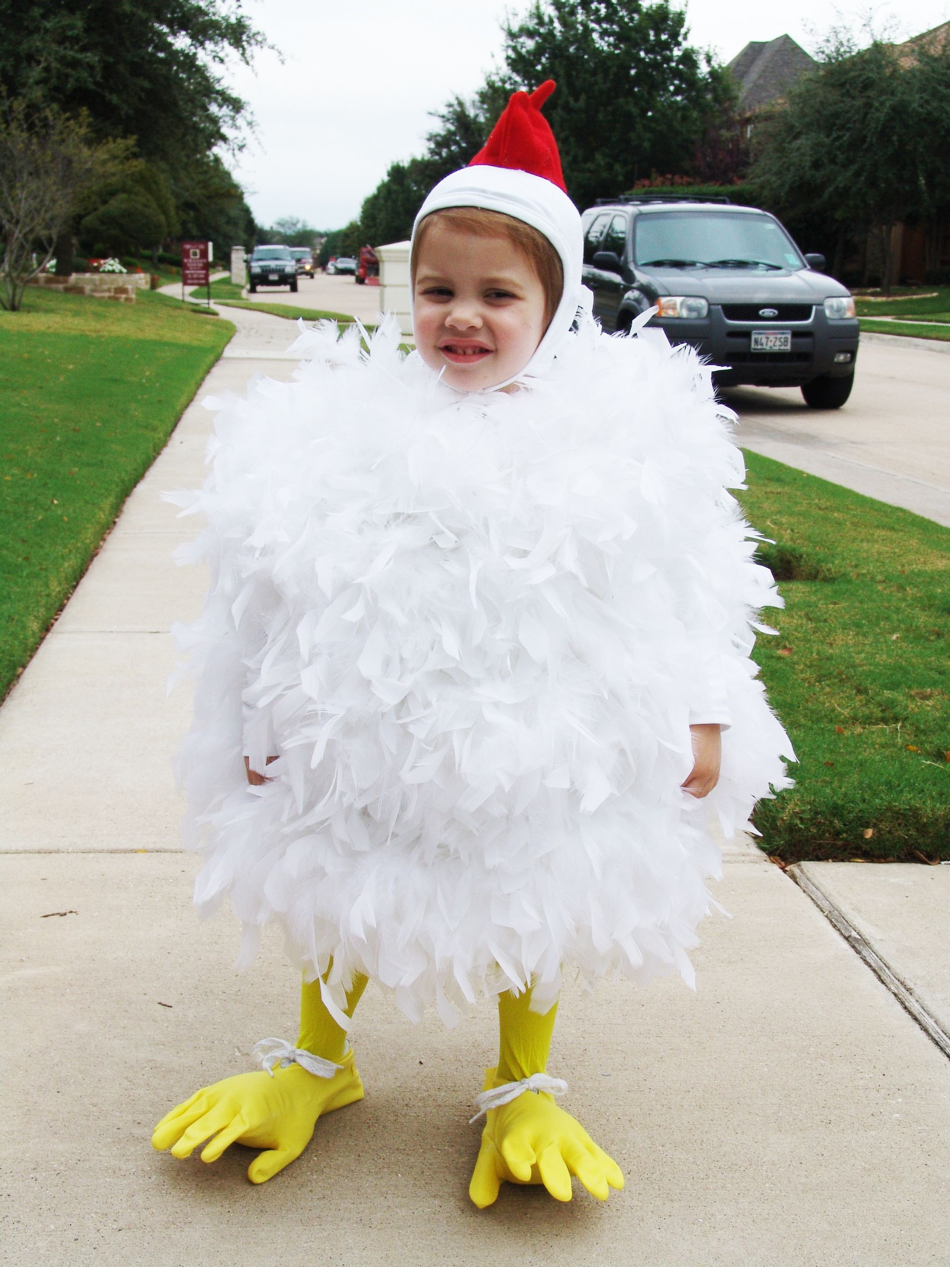 Best ideas about Chicken Costume DIY . Save or Pin 50 DIY Halloween Costumes Now.