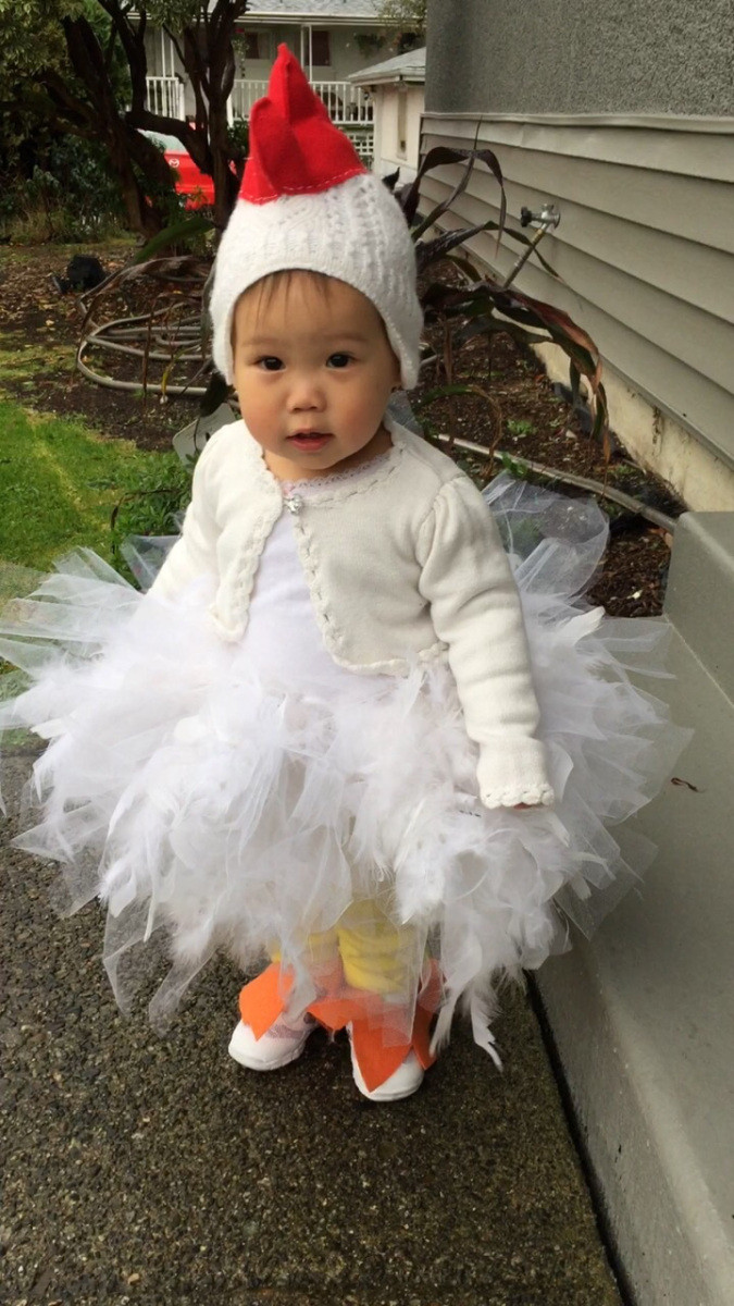 Best ideas about Chicken Costume DIY . Save or Pin DIY Toddler Chicken Costume with Template – The Fancy Fiasco Now.