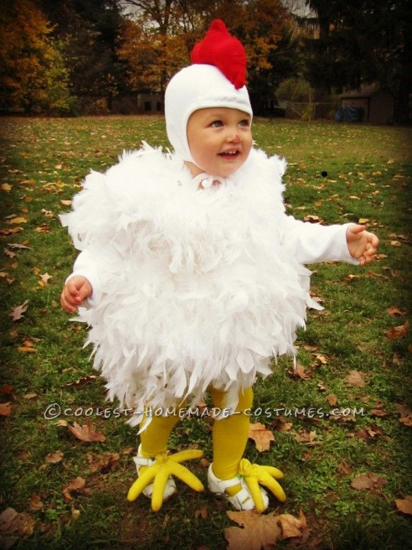 Best ideas about Chicken Costume DIY . Save or Pin Cutest Chicken Homemade Costume Now.