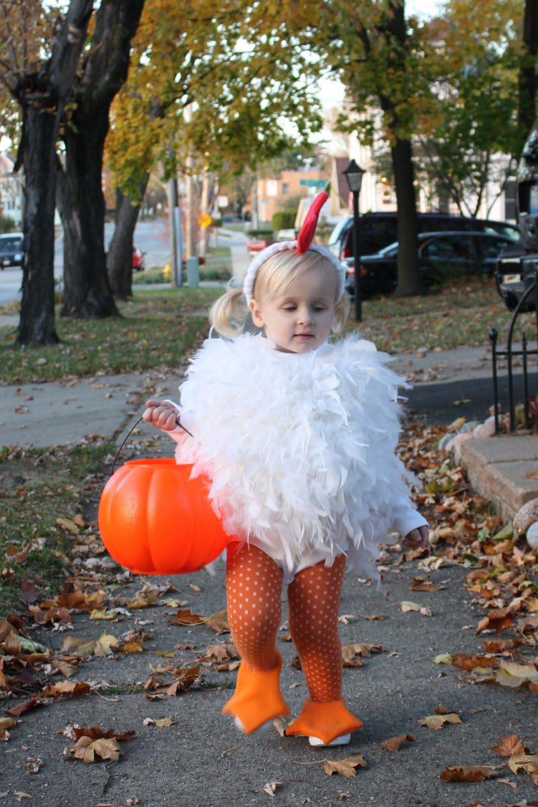 Best ideas about Chicken Costume DIY . Save or Pin While Wearing Heels Reformed Halloween Grinch Now.