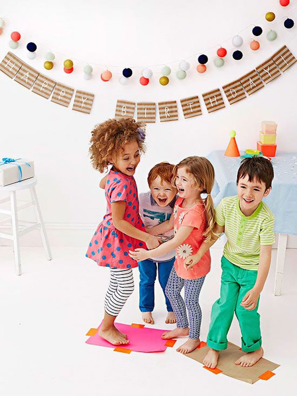 Best ideas about Child Birthday Party Game . Save or Pin 9 WAYS TO SUCCESSFULLY THROW THE MOST COLORFUL KIDS PARTY Now.
