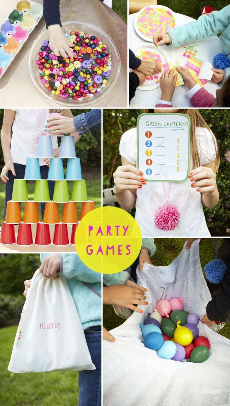 Best ideas about Child Birthday Party Game . Save or Pin Backyard Birthday Parties on Pinterest Now.