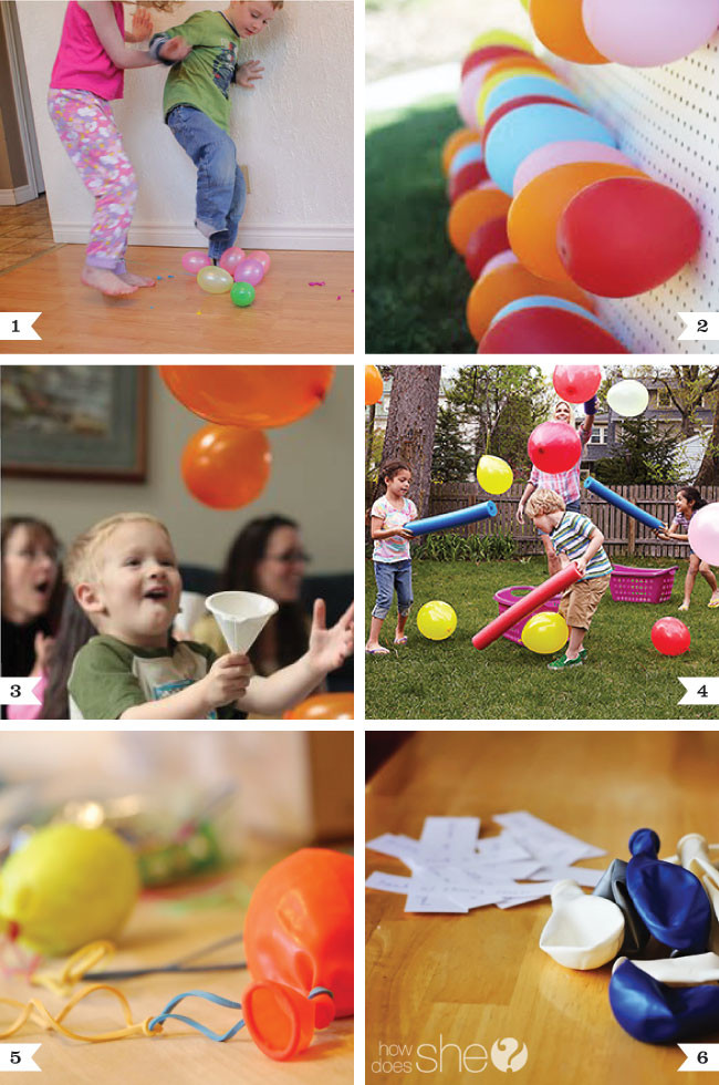 Best ideas about Child Birthday Party Game . Save or Pin Balloon party game ideas Now.