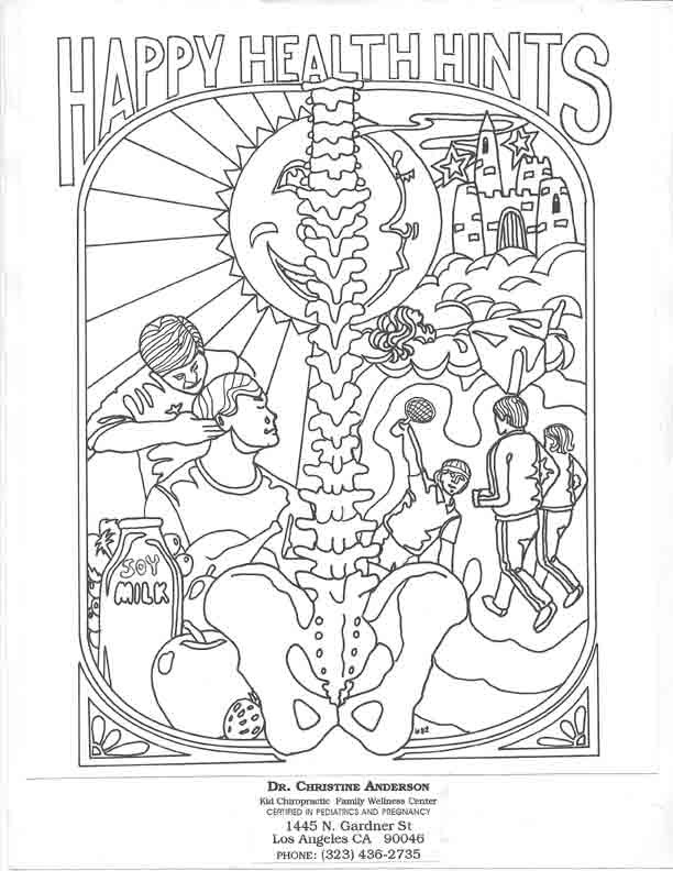 Best ideas about Chiropractic Coloring Pages For Kids . Save or Pin Chiropractic Coloring Pages For Kids Coloring Home Now.