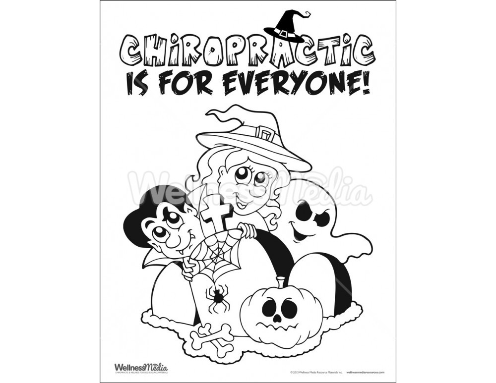 Best ideas about Chiropractic Coloring Pages For Kids . Save or Pin Chiropractic Kids Coloring Sheet Now.