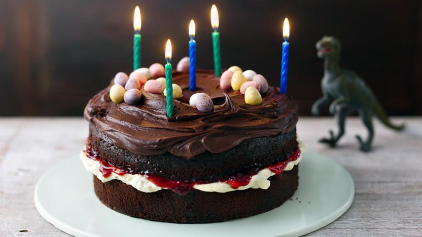 Best ideas about Chocolate Birthday Cake Recipes . Save or Pin Easy chocolate birthday cake recipe BBC Food Now.