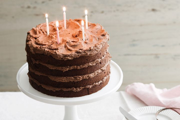 Best ideas about Chocolate Birthday Cake Recipes . Save or Pin Chocolate birthday cake Now.