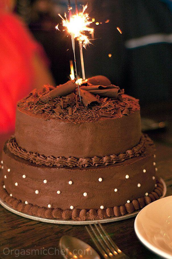 Best ideas about Chocolate Birthday Cake Recipes . Save or Pin Chocolate Birthday Cake Recipe Now.