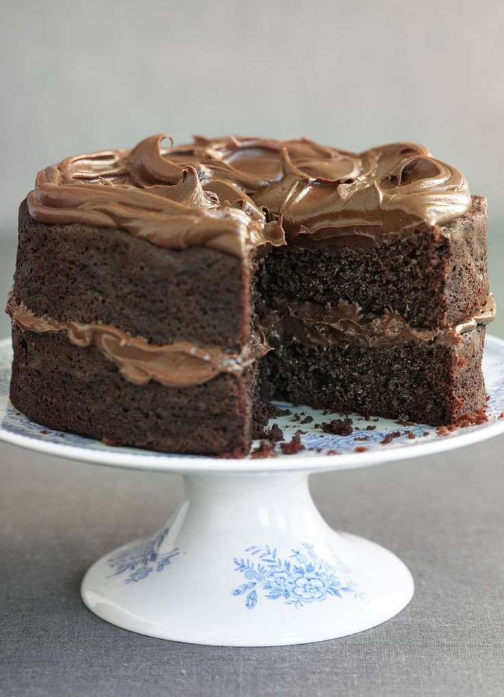 Best ideas about Chocolate Birthday Cake Recipes . Save or Pin Best 25 Chocolate birthday cakes ideas on Pinterest Now.