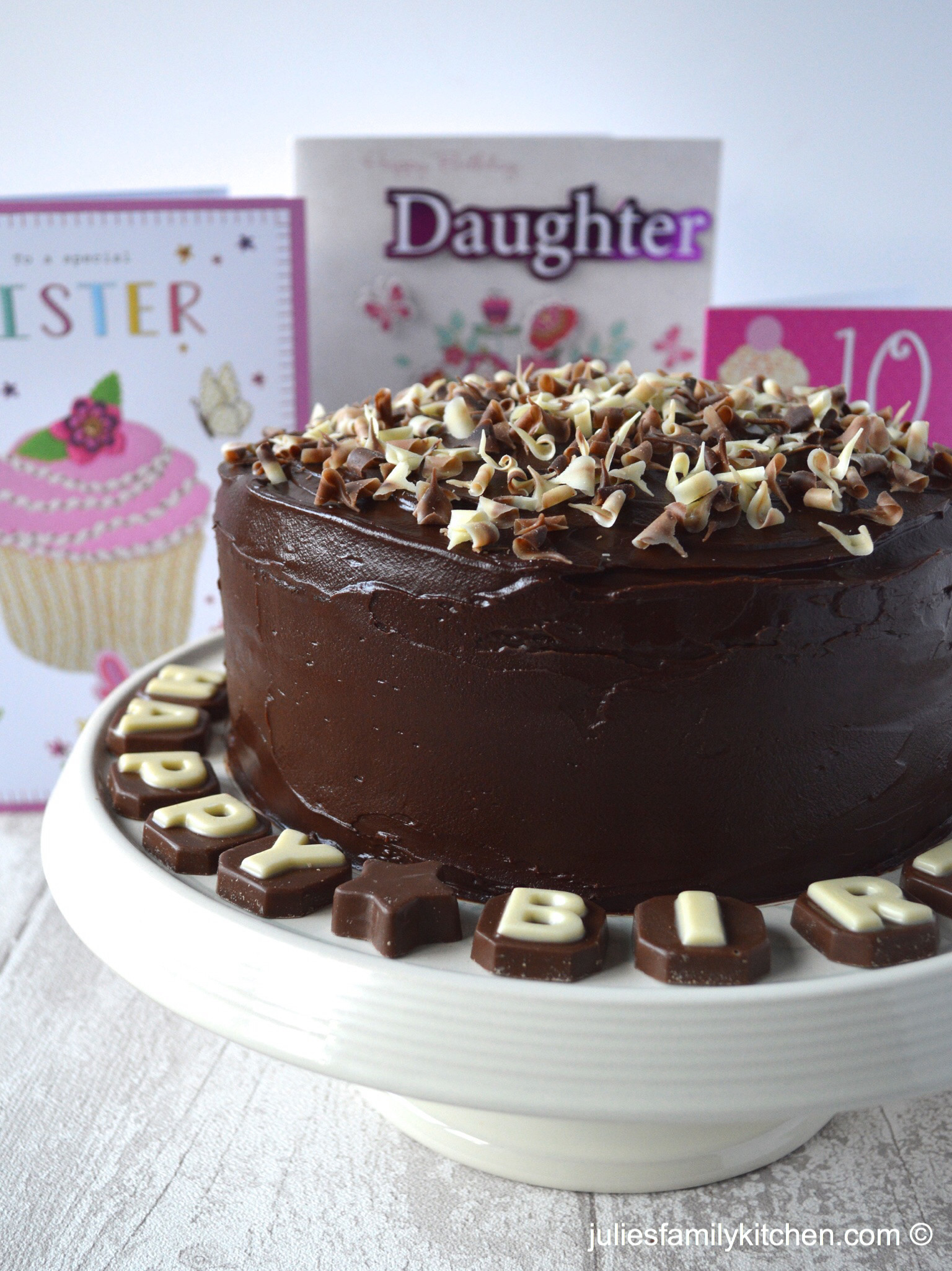 Best ideas about Chocolate Birthday Cake Recipes . Save or Pin Death by Chocolate Cake – Julie s Family Kitchen Now.
